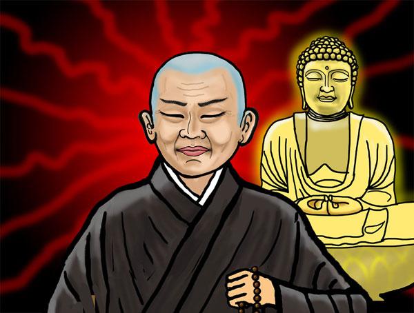 比叡山で修行をすればするほど悩みが深まる親鸞聖人。
