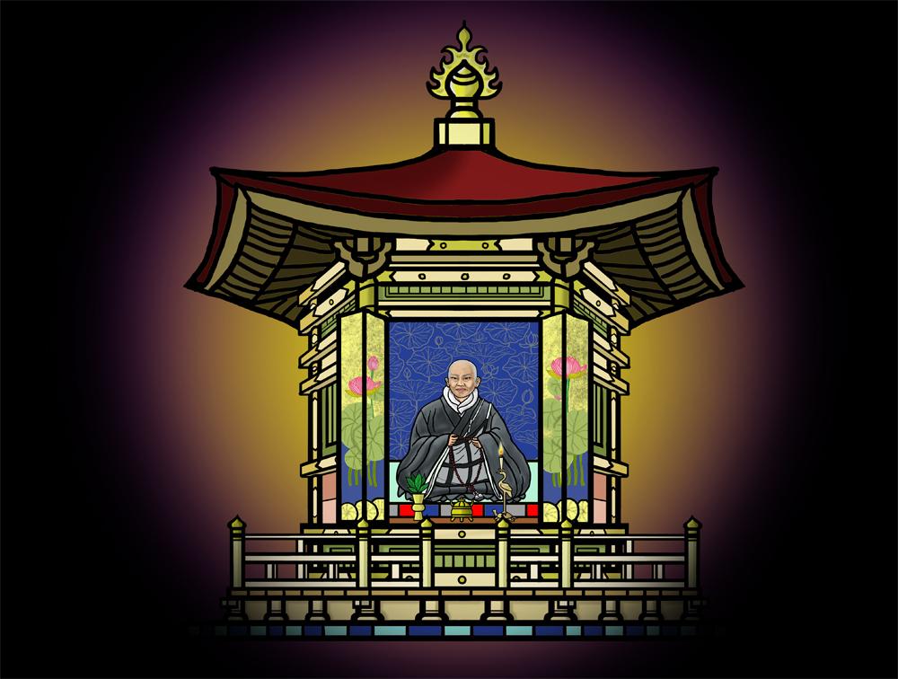 親鸞聖人の御影像を安置した六角堂もまた権力争いの中に巻き込まれていく。