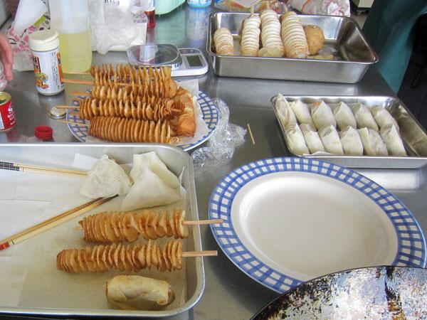 里芋を使った様々な加工食品