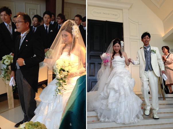 結婚式スナップ。