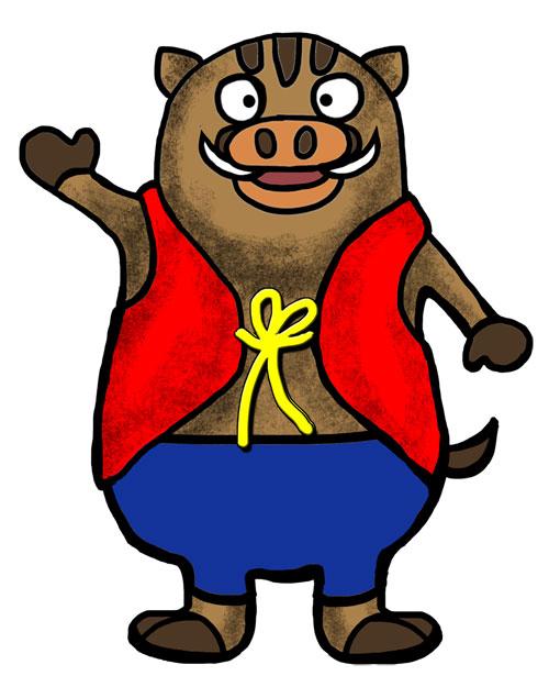 猪野瀬地区非公認キャラクター『イノッセー』