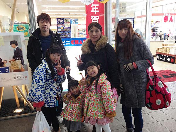 福井駅でしばしの別れ。