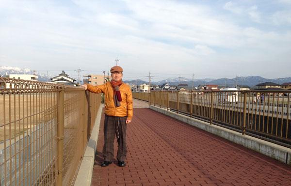 家内とウオーキングをした福井市郊外。