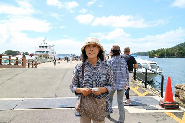 松島見学の遊覧船乗り場